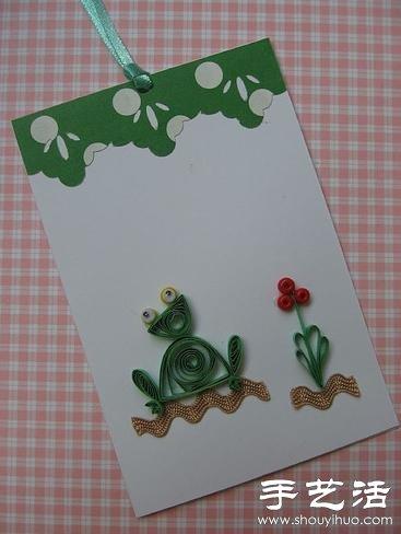 简单又可爱的手工衍纸作品(3)