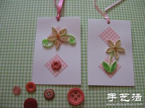简单又可爱的手工衍纸作品(2)