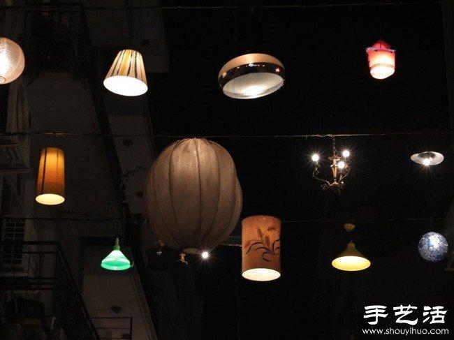 "DIY""万家灯火""中的温馨小巷 -  www.shouyihuo.com"