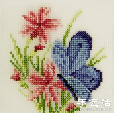 十字绣绣法技巧 - www.shouyihuo.com