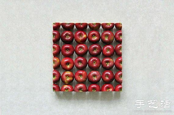 IY简单独特的水果拼盘 2