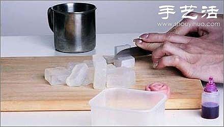 自製玫瑰香皂 玫瑰手工香皂的做法