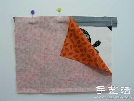 布艺化妆包/笔袋手工制作教程