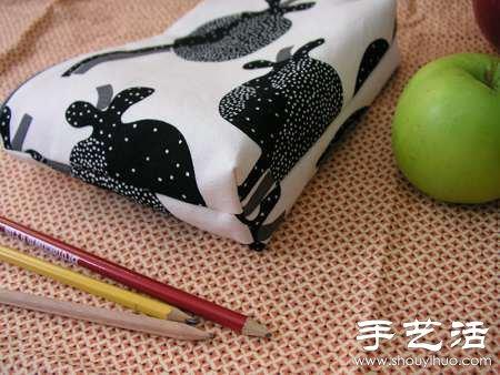布艺化妆包/笔袋手工制作教程 - www.shouyihuo.com