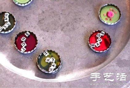 瓶盖的可爱环保创意 手工DIY精致小玩意