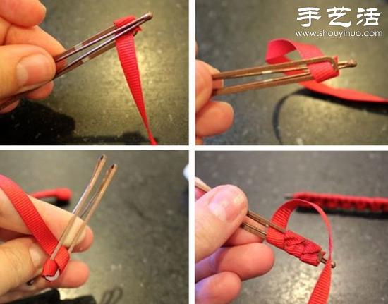 发夹手工DIY改造教程 -  www.shouyihuo.com