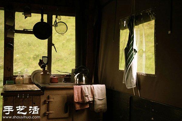 火警车改造DIY成移动旅馆 -  www.shouyihuo.com