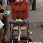 DIY男宝宝专用婴儿车