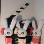 用袜子DIY手工制作呆萌布艺玩偶兔子