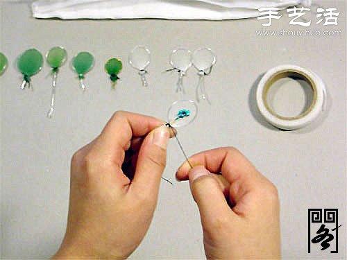 丝袜花土耳其菊的制作方法 -  www.shouyihuo.com