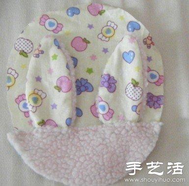 兔子造型口金包DIY手工制作教程 -  www.shouyihuo.com