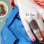 指甲油DIY改造金属戒指的方法