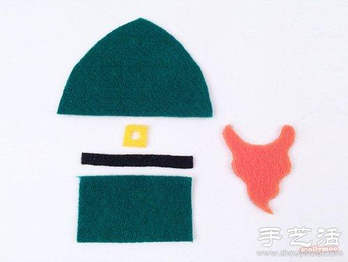 手工布帽子的做法步骤