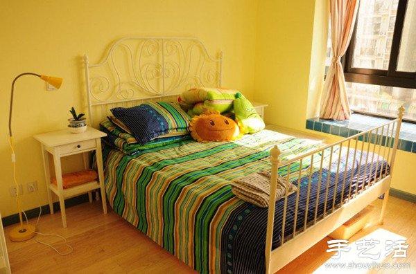 地中海风格一居室小户型装修图