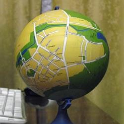 创意手工:给家乡制作一个地球仪