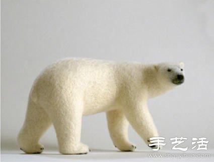 羊毛毡diy制作的可爱小动物