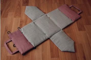 可爱房子布艺包包diy手工制作教程