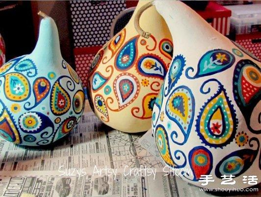 葫蘆創意手工製作可愛大公雞手工藝品