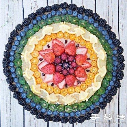 超有艺术范儿的水果拼盘DIY