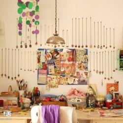 德国女孩用自己的手作布置的温馨家居