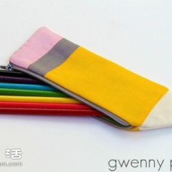 不织布DIY笔袋的做法 笔袋制作图解教程