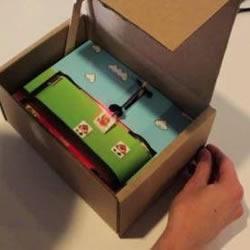 GEEK牛人DIY超级马里奥游戏机