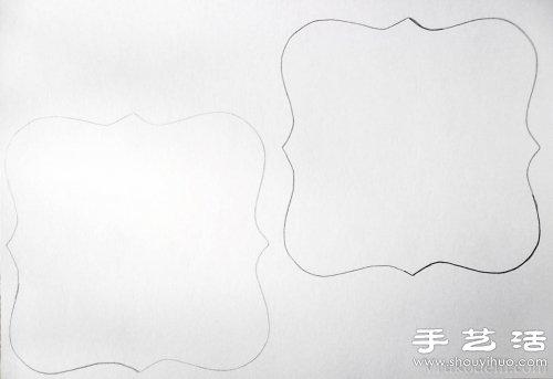 自製唯美相框 超漂亮相框手工製作教程