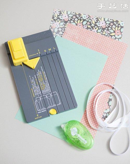 漂亮手提禮品包裝袋/禮品袋手工製作教程