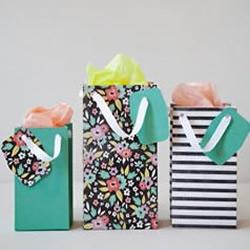 漂亮手提礼品包装袋/礼品袋手工制作教程