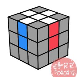 七步玩转三阶魔方还原公式及步骤图解教程 -  www.shouyihuo.com