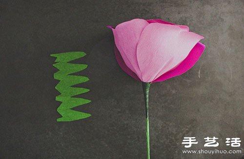 手工制作玫瑰花图解 手工制作玫瑰花做法