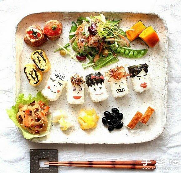 创意 美好/创意DIY美好有爱的早餐摆盘