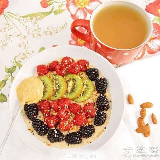 DIY精致美好的水果拼盘