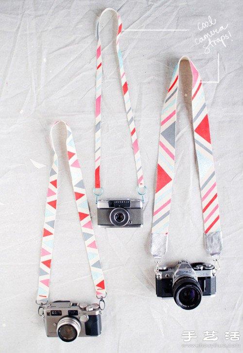自己動手DIY漂亮相機背帶的方法