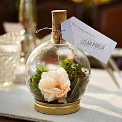废品旧物小制作:玻璃瓶DIY漂亮装饰摆件