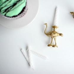 动物玩偶创意改造 DIY迷你动物蜡烛台