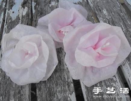 简易纸花手工制作方法 漂亮纸花的做法图解