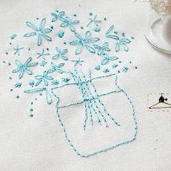 森系风格刺绣作品欣赏