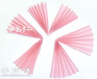 【手工坊】 手工制作可爱小猪纸扇 纸张+雪糕棒