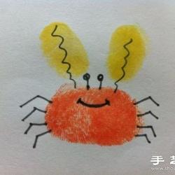 DIY超简单的儿童手指画