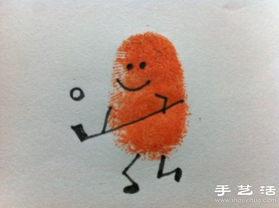 DIY超简单的儿童手指画 2