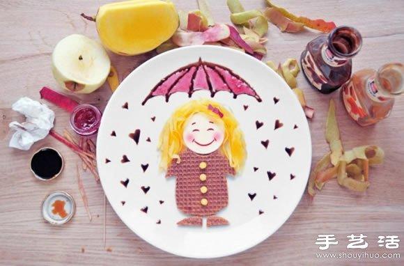 一组很可爱的食物摆盘创意diy(2)