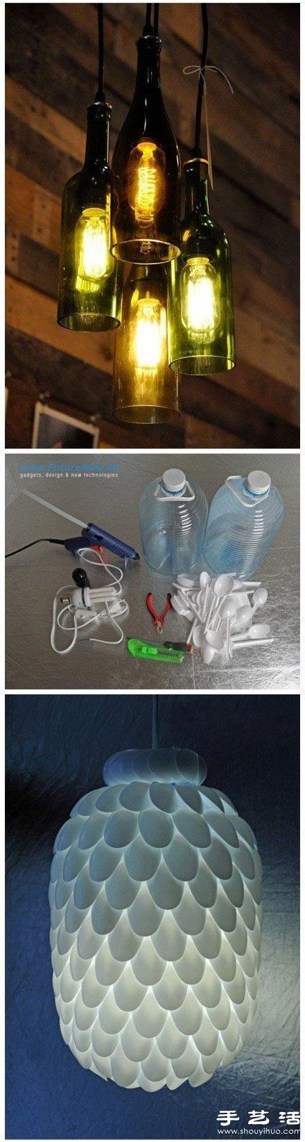 生活小创意废物利用_15款超有创意的废物利用手工DIY作品_手艺活网