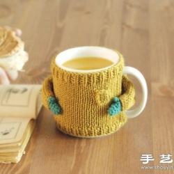 超可爱手工针织杯套 让生活变得如此美好
