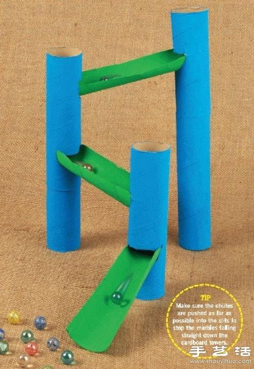 卷纸芯 卷纸筒废物利用手工制作小手工艺品