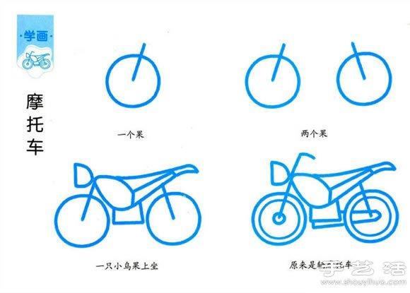 车画画步骤简单