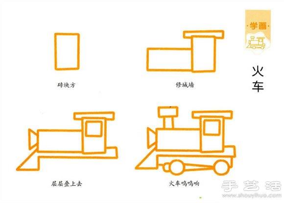 简单的儿童简笔画教程(3)