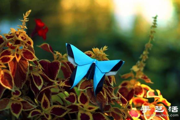 栩栩如生的创意折纸小动物