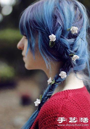 DIY夏日點睛髮飾 感覺自己萌萌噠