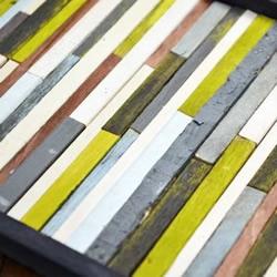 废木条变废为宝DIY手工制作壁挂装饰品